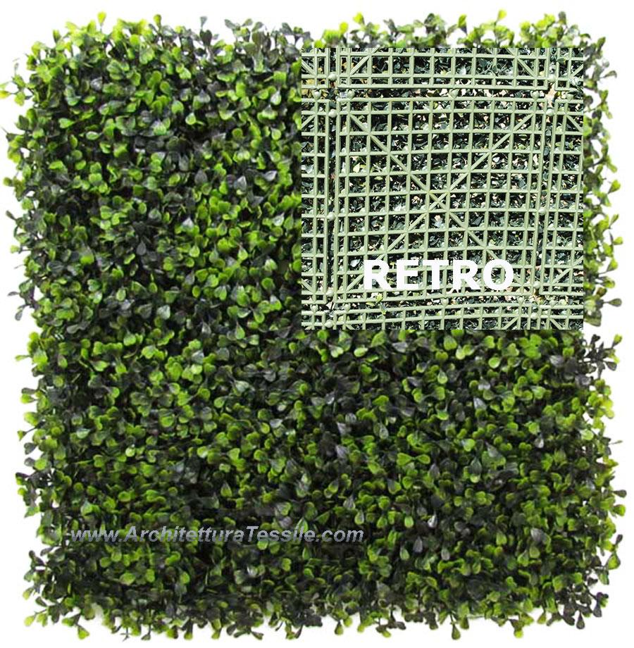 Siepi artificiali siepe sintetica siepe bosso artificiale for Siepi artificiali per balconi