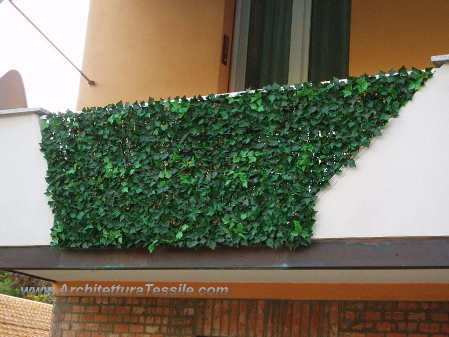 Siepe edera finta siepe artificiale arredo mostre vetrine for Edera artificiale per balconi