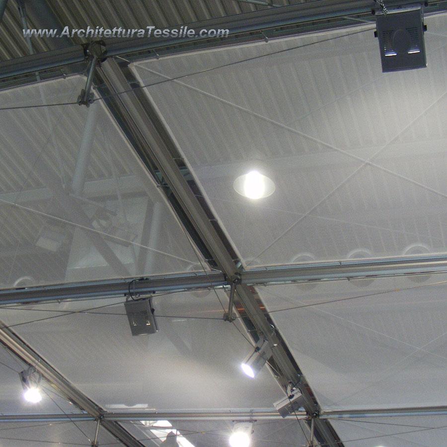 Tessuto allestimenti ignifugo arredo stand vetrine for Tessuti per arredamento vendita on line